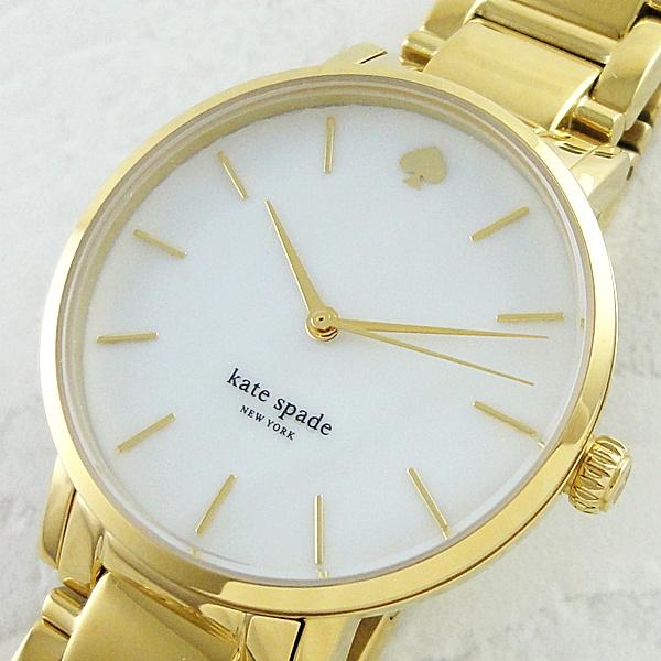 【キャッシュレス5%還元】★箱なし・腕時計のみお届け★ケイトスペード 時計 レディース 腕時計 グラマシーゴールド 1YRU0002 ビジネス 女性 ブランド 時計 誕生日 お祝い プレゼント ギフト