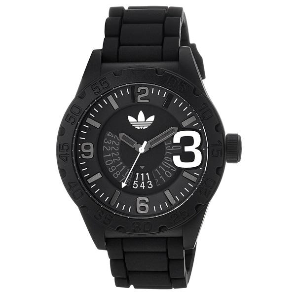 アディダス オリジナルス 時計 メンズ 腕時計 NEWBURGH ニューバーグ ブラック×ホワイト ADH2963 ビジネス 男性 ブランド 【仕事用】 誕生日 お祝い プレゼント ギフト お洒落