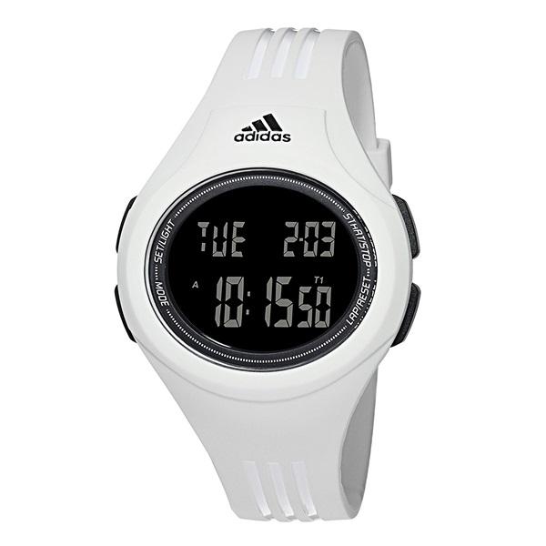 腕時計 プレゼント 20代 30代 公式ストア 40代 50代 60代 70代 バースデー お祝い 母の日 至上 就活 ADP3262 おしゃれなデジタル メンズ アディダスもスポーツも楽しめる スーパーSALE レディース 研修 ペアもOK 多機能 景品 白い