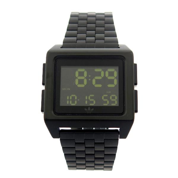 【キャッシュレス5%還元】Adidas アディダス 時計 メンズ レディース 腕時計 アーカイブ ブラック 黒 デジタル CJ6306 ビジネス 男性 女性 ユニセックス ペアにおすすめ ブランド 誕生日 お祝い プレゼント ギフト