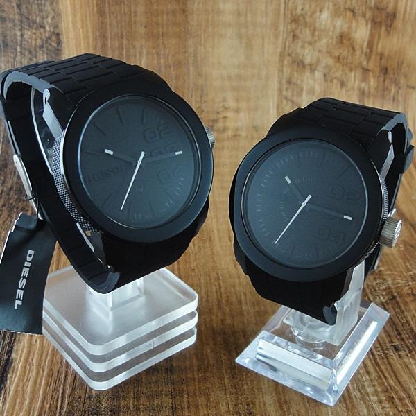 ディーゼル 時計 ペアウォッチ フランチャイズ ブラック ラバー DZ1437DZ1437 ブランド カップル 男女 ペアセット 誕生日 お祝い プレゼント ギフト