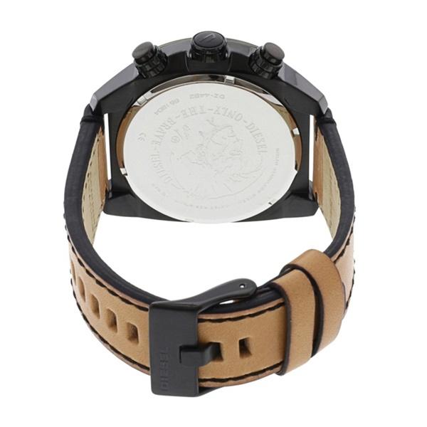 ディーゼル ペアウォッチ 腕時計 メンズ レディース 大きい ビック 偏光ガラス レザー 革ベルト DZ4482DZ1657 ブランド カップル 男女  ペアセット 2本セット【仕事用】 誕生日 お祝い プレゼント ギフト お洒落