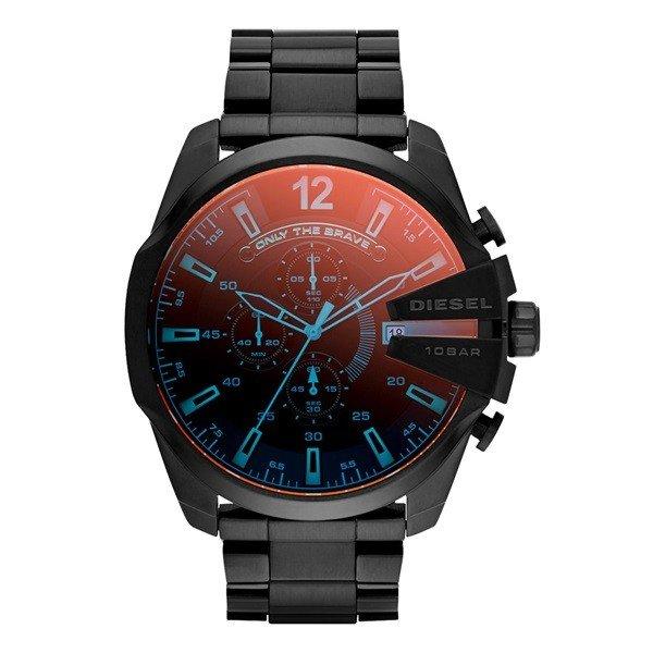 ディーゼル 時計 メンズ 腕時計 メガチーフ ビックケース クロノグラフ ブラック DZ4318 ビジネス 男性 ブランド 【仕事用】 誕生日 お祝い プレゼント ギフト お洒落