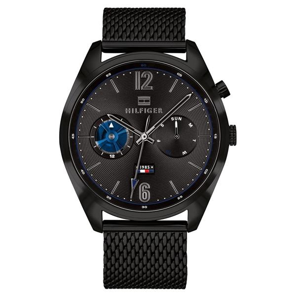 トミーヒルフィガー 腕時計 ギフト メンズ DEACON ブラック ブラック メッシュ ステンレス 1791547 誕生日 ビジネス 男性 ブランド 時計 誕生日 お祝い プレゼント ギフト お洒落, 酒浪漫うちやま:c13897ee --- cgt-tbc.fr
