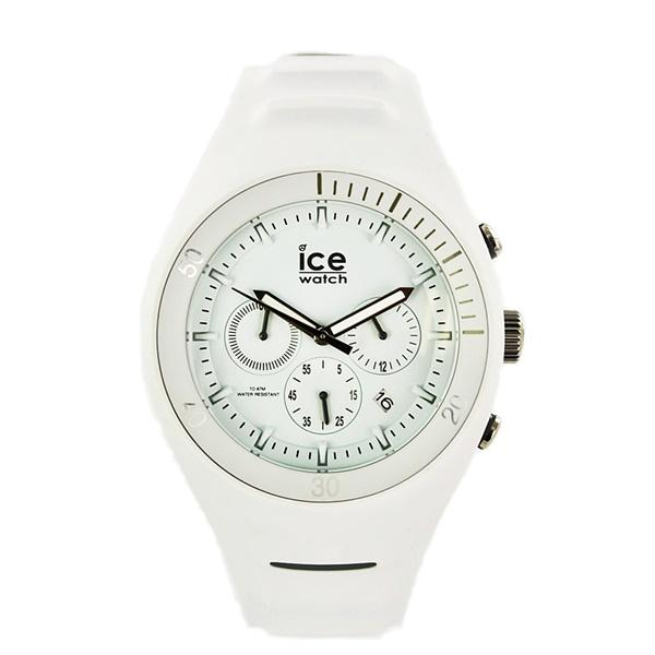 アイスウォッチ 時計 メンズ 腕時計 ピエール・ルクレ クロノグラフ ビック ラージサイズ ホワイト 白 014943 ブランド 仕事 男性 誕生日 お祝い プレゼント ギフト お洒落