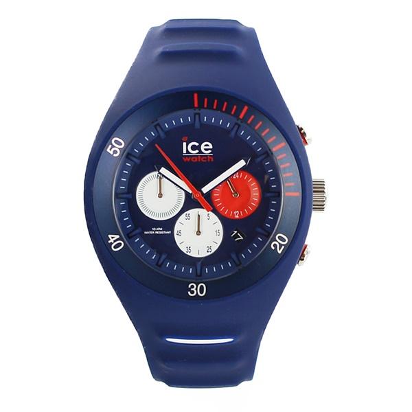 アイスウォッチ 時計 メンズ レディース 腕時計 ピエール・ルクレ クロノグラフ ビック ラージサイズ ダークブルー 青 014948 ブランド カップル ユニセックス 男女 誕生日 お祝い プレゼント ギフト お洒落
