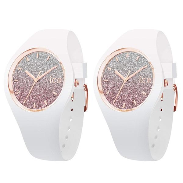 アイスウォッチ 時計 ペアウォッチ シェア ユニセックス ICE lo 43mm ピンク ホワイト シリコン 013431013431 ブランド 男女 カップル ペアセット 誕生日 お祝い プレゼント ギフト お洒落