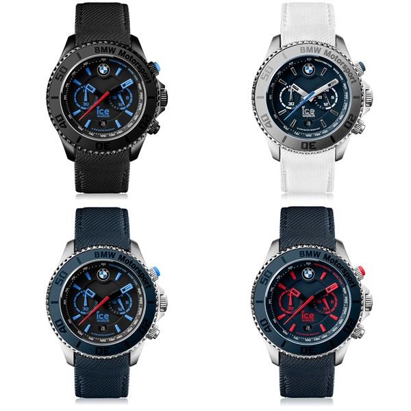 選べる4カラー アイスウォッチ メンズ 腕時計 BMW Motorsport ビッグ クロノ 防水 52mm Extra Large BM.CH.KLB.BB.L.14 ビジネス 男性 ブランド プレゼント 誕生日 お祝い プレゼント ギフト お洒落