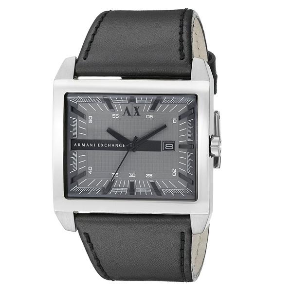 アルマーニエクスチェンジ 時計 メンズ 腕時計 ブラック レザー AX2218 ビジネス 男性 ブランド 時計 誕生日 お祝い プレゼント ギフト お洒落