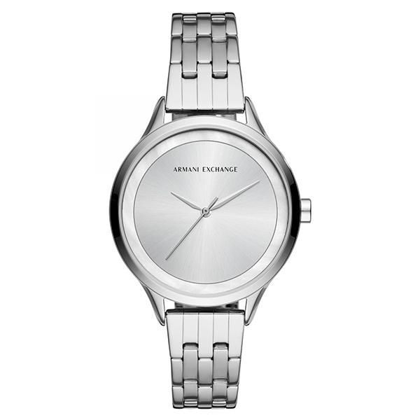 アルマーニエクスチェンジ 時計 レディース 腕時計 38mm シルバー ステンレス シンプルデザイン AX5600 ビジネス 女性 ブランド 時計 誕生日 お祝い プレゼント ギフト お洒落