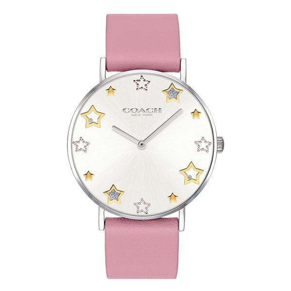 コーチ 時計 レディース 腕時計 DELANCEY デランシー 星 スター ピンク レザー 革ベルト 14503243 ビジネス 女性 ブランド 誕生日 お祝い プレゼント ギフト