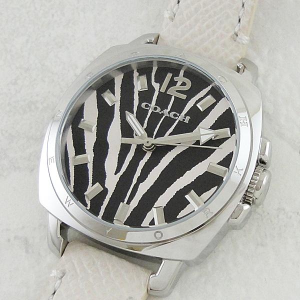 コーチ 時計 レディース 腕時計 ボーイフレンド スモール ゼブラ レザー 14502066 ビジネス 女性 ブランド 【仕事用】 誕生日 お祝い プレゼント ギフト お洒落