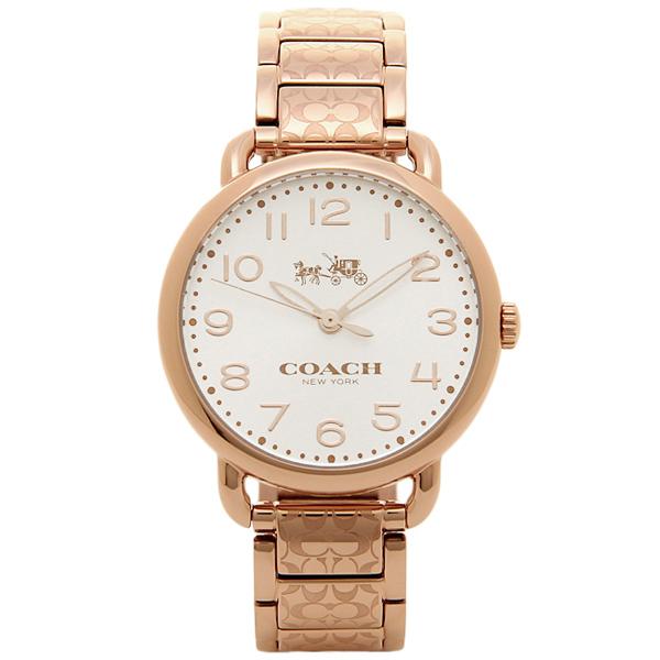 18d4d2a9946f コーチ 時計 レディース 腕時計 DELANCEY デランシー ローズゴールド シグネチャー柄 ブレスレットウォッチ 14502497 ビジネス 女性  ブランド