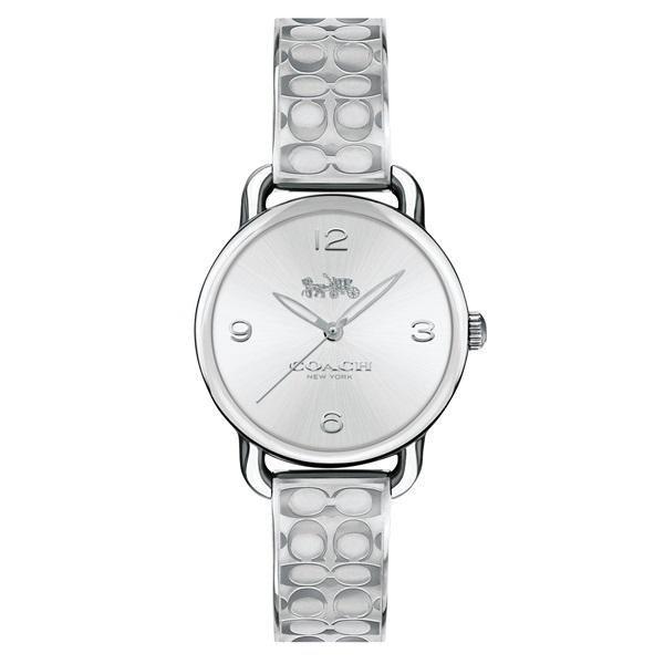 コーチ 時計 レディース 腕時計 DELANCEY デランシー シルバー 28ミリ バングルウォッチ 14502891 ビジネス 女性 ブランド 誕生日 お祝い プレゼント ギフト