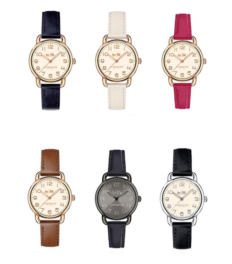 コーチ 時計 レディース 腕時計 デランシーコレクション 選べる6カラー ビジネス 女性 ブランド 【仕事用】 誕生日 お祝い プレゼント ギフト お洒落