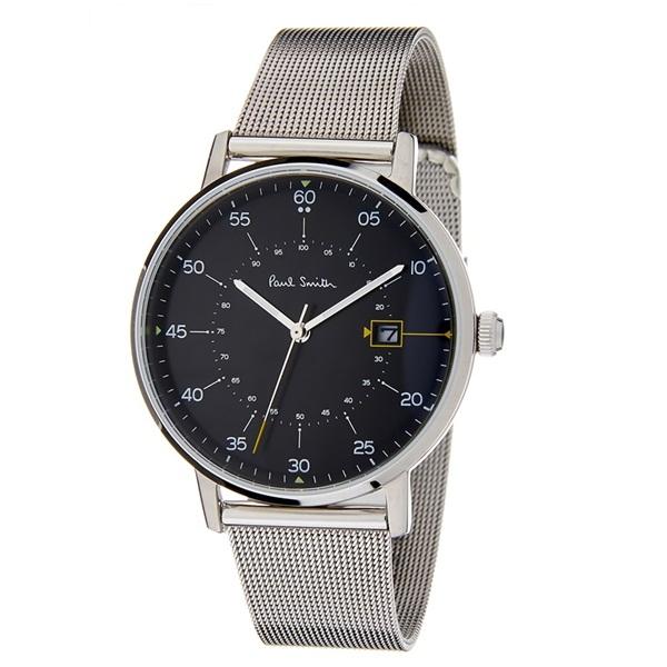 ポールスミス 時計 メンズ 腕時計 Gauge シルバー メッシュブレスレット P10131 ビジネス 男性 ブランド 時計 誕生日 お祝い プレゼント ギフト お洒落