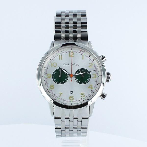 ポールスミス 時計 メンズ 腕時計 Precision クロノグラフ シルバー ステンレス P10016 ビジネス 男性 ブランド 時計 誕生日 お祝い プレゼント ギフト