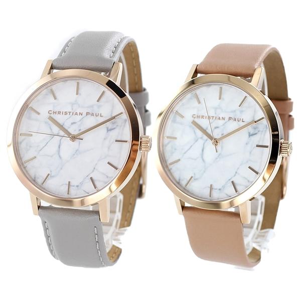 最新な カップル おそろい 腕時計 メンズ ペアウォッチ クリスチャンポール メンズ 腕時計 ペアウォッチ レディース 大理石柄 グレー ベビーピンク, アパレル手芸のプロ用具 「匠」:2e005c5b --- coursedive.com