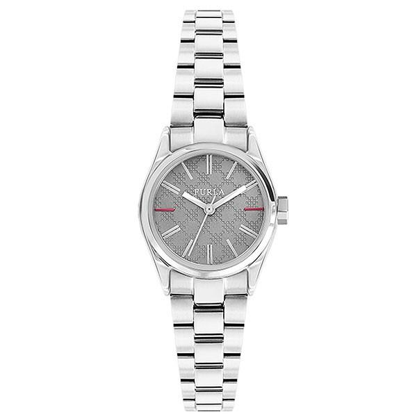 フルラ レディース 腕時計 エヴァ 25mm グレー文字盤 シルバー ステンレス 女子力アップ おしゃれ R4253101523 ビジネス 女性 ブランド 時計 誕生日 お祝い プレゼント ギフト お洒落