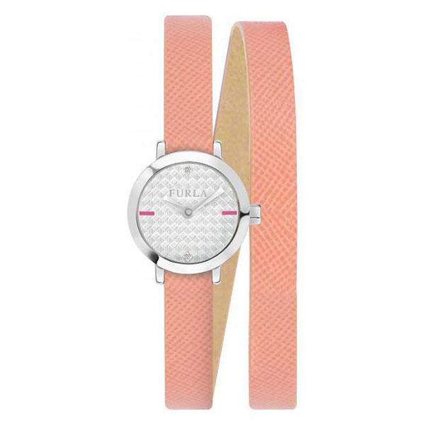 無料特典付き! フルラ レディース 腕時計 VITTORIA 20mm シルバーケース ぺスカピンク レザー 二重巻き R4251107503 ビジネス 女性 ブランド 時計 誕生日 お祝い プレゼント ギフト お洒落