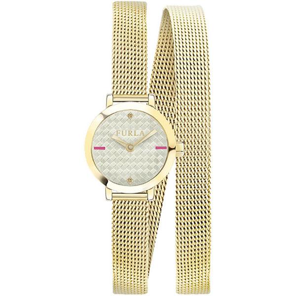 無料特典付き! フルラ レディース 腕時計 VITTORIA 20mm ゴールド メッシュ ステンレス 二重巻き R4253107501 ビジネス 女性 ブランド 時計 誕生日 お祝い プレゼント ギフト お洒落