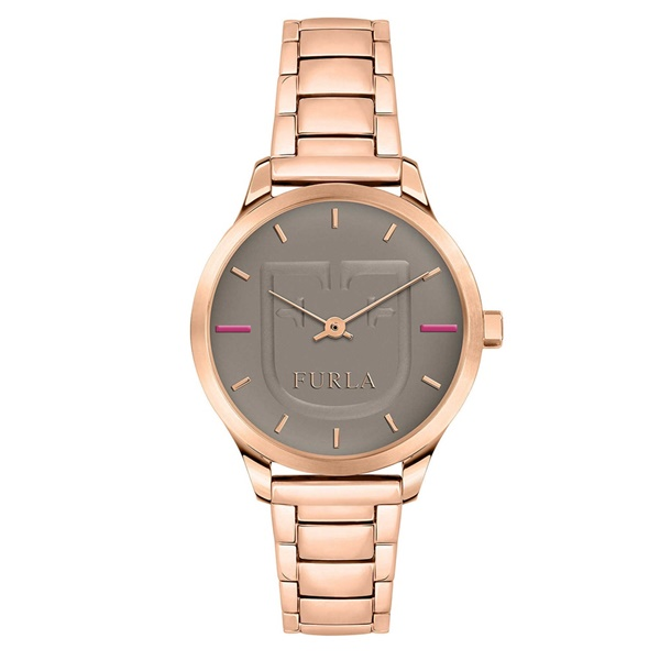 フルラ 時計 レディース 腕時計 ライクスクード 大人色 ブラウングレー ローズゴールド 女性 とけい 贈り物に R4253125504 ビジネス 女性 ブランド 時計 誕生日 お祝い プレゼント ギフト