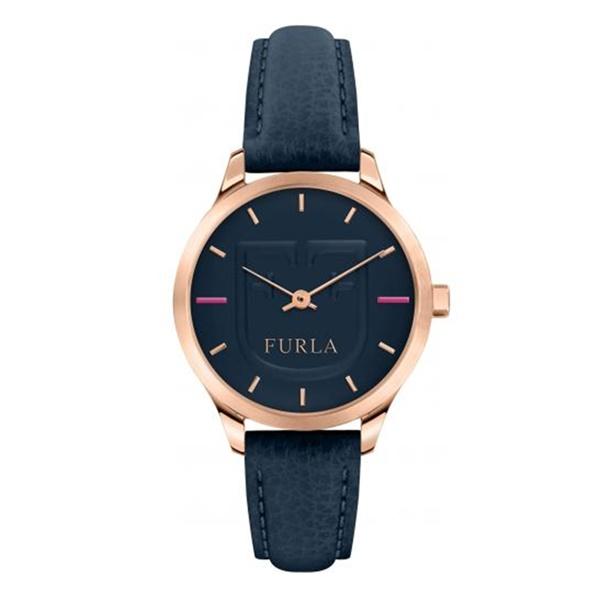 フルラ 時計 レディース 腕時計 ライク シンプル おしゃれ ローズゴールド ブルー 青 大人色 レザー 革ベルト R4251125501 ビジネス 女性 ブランド 時計 誕生日 お祝い プレゼント ギフト