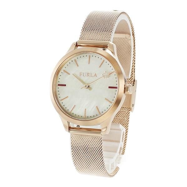 FURLA フルラ 時計 レディース 腕時計 ライク ローズゴールド シェル メッシュブレスレット R4253119505 ビジネス 女性 ブランド 時計 誕生日 お祝い プレゼント ギフト