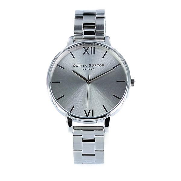 オリビアバートン 時計 レディース 腕時計 ビッグダイヤル シルバー ステンレス OB15BL22 ビジネス 女性 ブランド 時計 誕生日 お祝い プレゼント ギフト お洒落