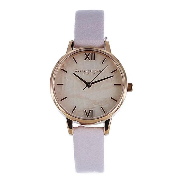 オリビアバートン 時計 レディース 腕時計 30mm ローズゴールド ピンク レザー OB16SP02 ビジネス 女性 ブランド 時計 誕生日 お祝い プレゼント ギフト お洒落