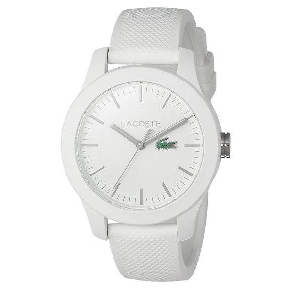 LACOSTE ラコステ メンズ レディース 腕時計 L.12.12 ホワイト ラバー 2000954 ブランド カップル ユニセックス 男女 誕生日 お祝い プレゼント ギフト お洒落