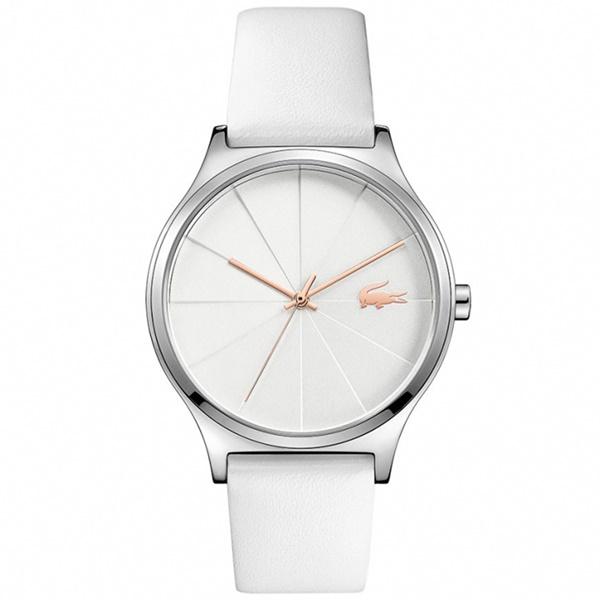 LACOSTE ラコステ レディース 腕時計 CAPBRETON 白いベルト ホワイトレザー 2001040 ビジネス 女性 ブランド プレゼント 誕生日 お祝い プレゼント ギフト