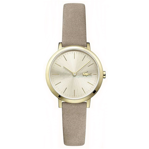 LACOSTE ラコステ レディース 腕時計 ミニ ムーン 小さい 女性用 グレージュレザー 2001049 ビジネス 女性 ブランド プレゼント 誕生日 お祝い プレゼント ギフト