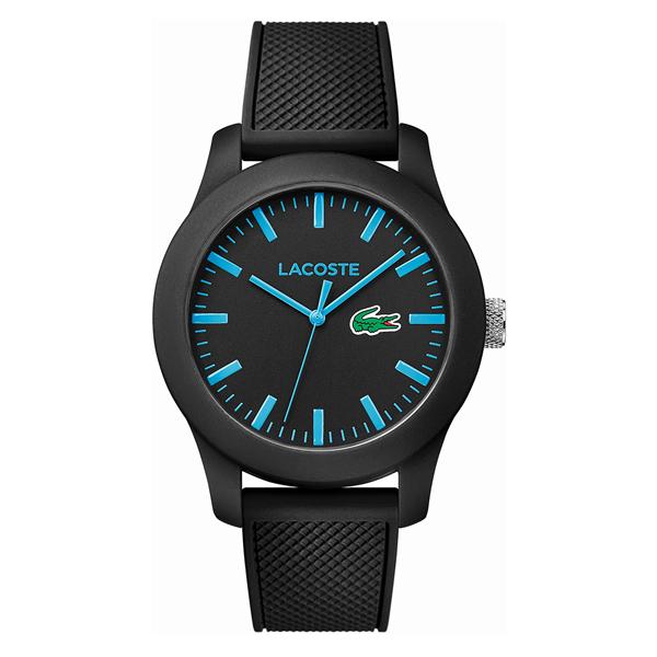LACOSTE ラコステ メンズ レディース 腕時計 L.12.12 ブラック ラバー 2010791 ブランド カップル ユニセックス 男女 誕生日 お祝い プレゼント ギフト お洒落