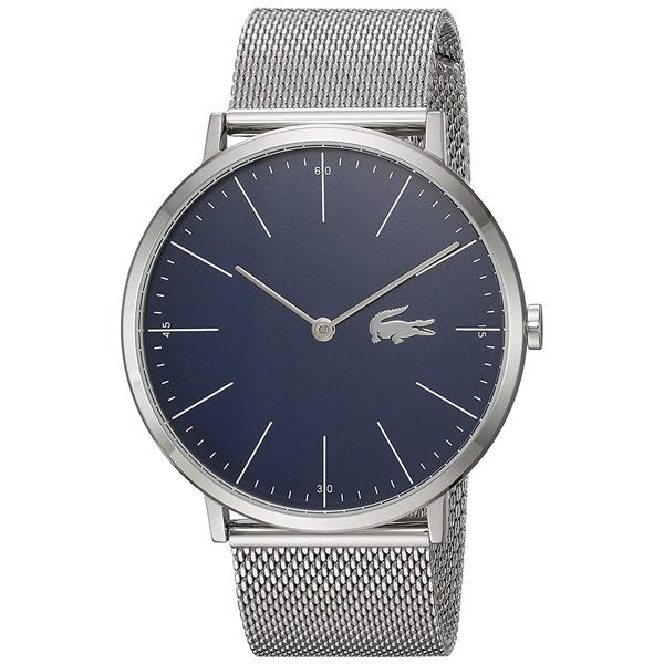 LACOSTE ラコステ メンズ 腕時計 MOON ネイビー文字盤 シルバー メッシュ ステンレス 2010900 ビジネス 男性 ブランド プレゼント 誕生日 お祝い プレゼント ギフト お洒落