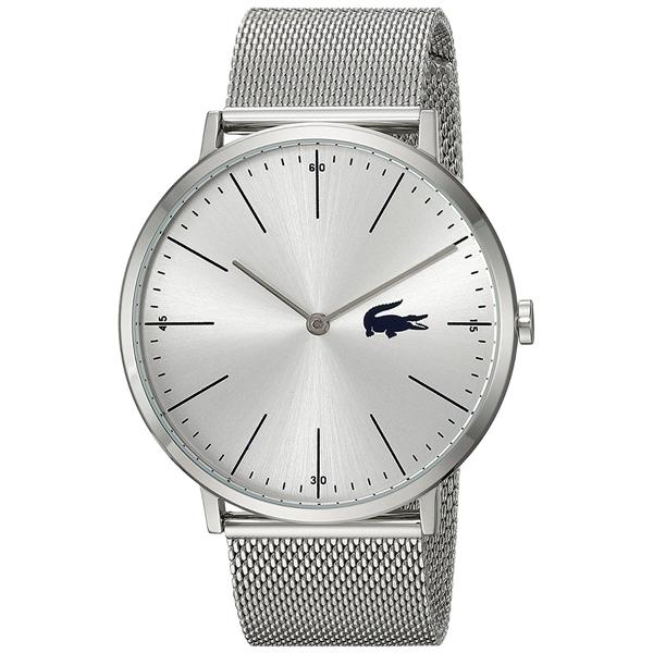 LACOSTE ラコステ メンズ 腕時計 MOON シルバー メッシュ ステンレス 2010901 ビジネス 男性 ブランド プレゼント 誕生日 お祝い プレゼント ギフト お洒落