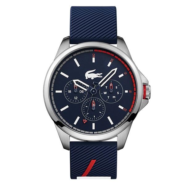 LACOSTE ラコステ メンズ 腕時計 カレンダー付 ネイビー ラバー 2010979 ブランド 男性 誕生日 お祝い プレゼント ギフト お洒落