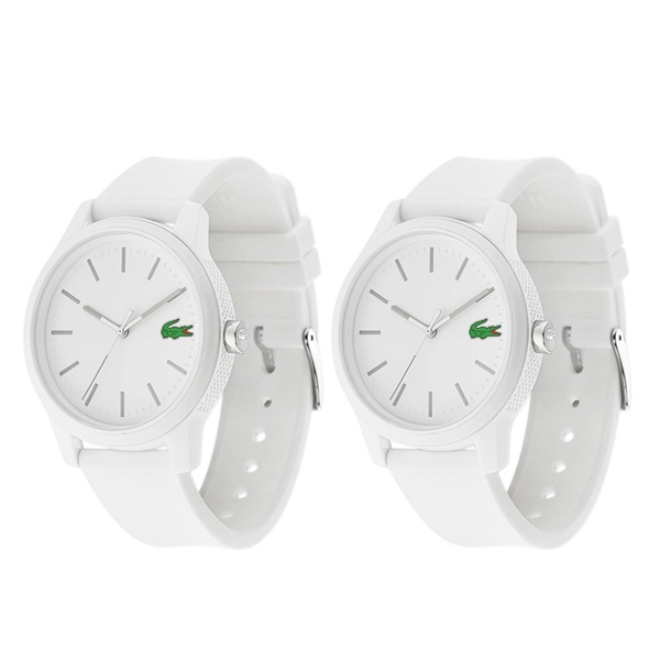 ペア時計収納箱つき ラコステ 腕時計 ペアウォッチ おそろい 2本セット しろ とけい 白 ホワイト ラバー 20109842010984 ビジネス 男性 女性 ペアセット カップル ブランド プレゼント 誕生日 お祝い プレゼント ギフトCoerWxBdQ