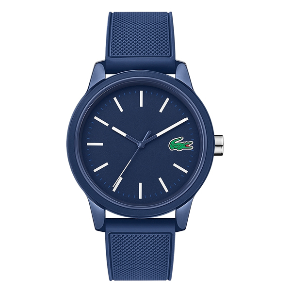 LACOSTE ラコステ メンズ レディース 腕時計 L 12 12 42mm ブルー ラバー 2010987 ブランド 男性 誕生日 お祝い プレゼント ギフトqSGMUzVp