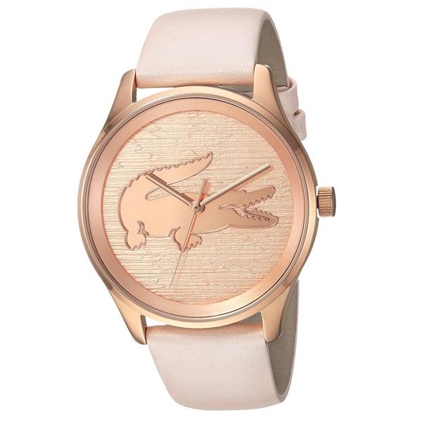 LACOSTE ラコステ レディース 腕時計 ローズゴールド ライトピンク レザー 2000997 ビジネス 女性 ブランド プレゼント 誕生日 お祝い プレゼント ギフト