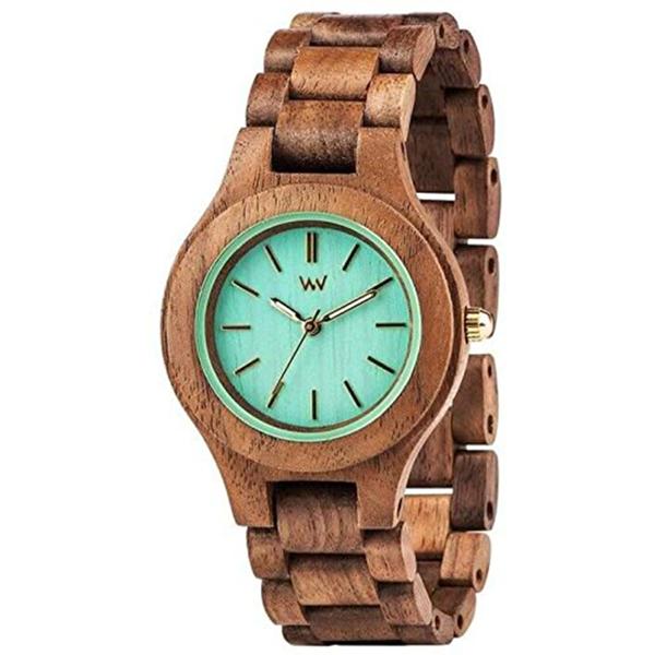 WEWOOD ウィーウッド 木の時計 木製 天然木 エコラグジュアリー レディース ANTEA NUT MINT アンテア ナット ミント 9818079 ビジネス 女性 ブランド 誕生日 お祝い プレゼント ギフト