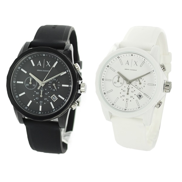 無料特典付き! AX アルマーニ エクスチェンジ ペアウォッチ 腕時計 同じデザインが嬉しい 一緒に毎日使える プレゼント AX1326AX1325 ブランド ペアセット シェアウオッチ 誕生日 お祝い