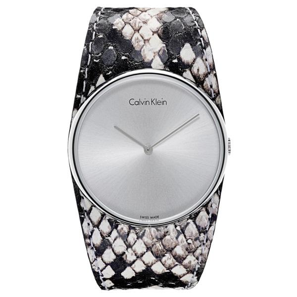 カルバンクライン 時計 レディース 腕時計 SPELLBOUND スペルバウンド ブラック ホワイト レザー K5V231L6 ビジネス 女性 ブランド 時計 誕生日 お祝い クリスマスプレゼント ギフト お洒落