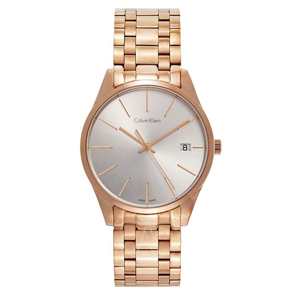 カルバンクライン 時計 レディース 腕時計 TIME タイム ローズゴールド ステンレス K4N23646 ビジネス 女性 ブランド 時計 誕生日 お祝い プレゼント ギフト お洒落