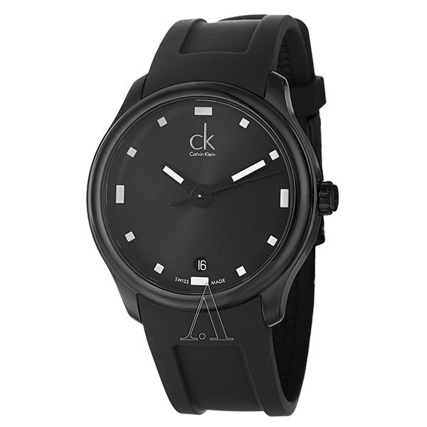 カルバンクライン 時計 メンズ 腕時計 VISIBLE ビジブル ブラック ラバー K2V214D1 ビジネス 男性 ブランド 時計 誕生日 お祝い プレゼント ギフト お洒落