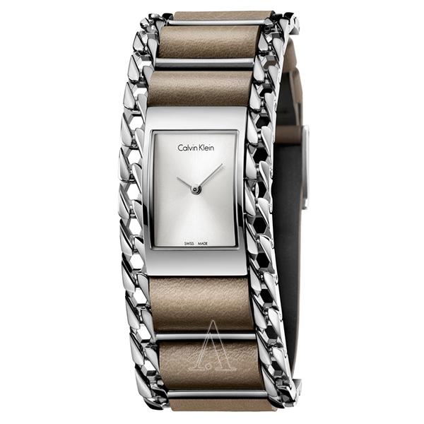 カルバンクライン 時計 レディース 腕時計 IMPECCABLE インペカブル ベージュ レザー K4R231X6 ビジネス 女性 ブランド 時計 誕生日 お祝い クリスマスプレゼント ギフト お洒落
