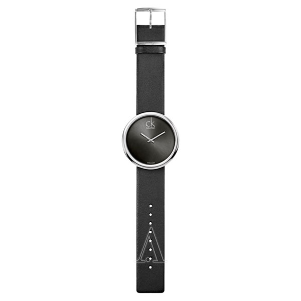 カルバンクライン 時計 レディース 腕時計 SUBTLE 46mm シルバーケース ブラック レザー K0V23107 ビジネス 女性 ブランド プレゼント 誕生日 お祝い プレゼント ギフト お洒落