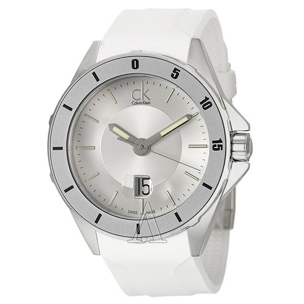 カルバンクライン 時計 メンズ 腕時計 PLAY プレイ 10気圧防水 ホワイト ラバー K2W21YM6 ビジネス 男性 ブランド プレゼント 誕生日 お祝い クリスマスプレゼント ギフト お洒落