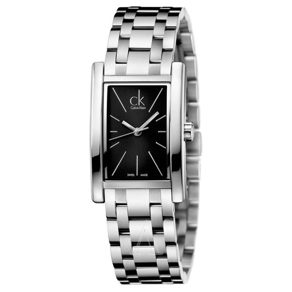カルバンクライン 時計 レディース 腕時計 REFINE ブラック文字盤 シルバー K4P23141 ビジネス 男性 ブランド 時計 誕生日 お祝い プレゼント ギフト お洒落