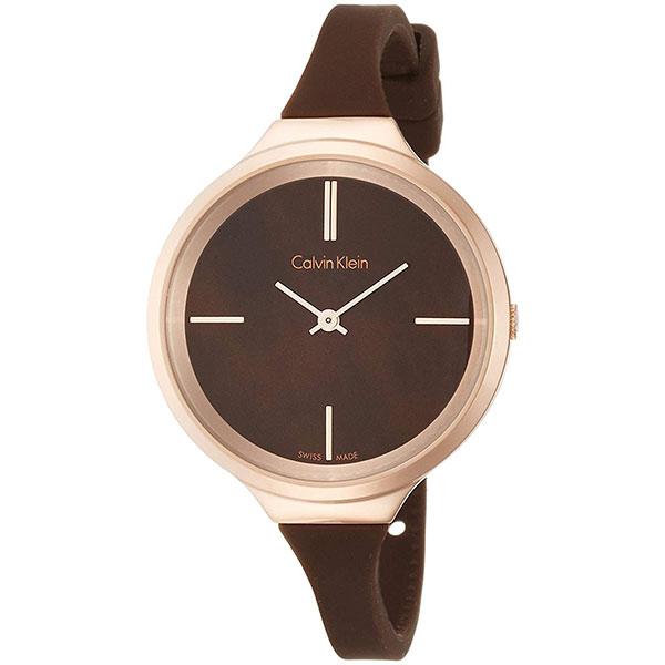 カルバンクライン 時計 レディース 腕時計 LIVELY ライブリー ブラウン シリコン K4U236FK ビジネス 女性 ブランド 時計 誕生日 お祝い プレゼント ギフト お洒落